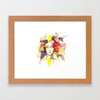Our Private Garden Framed Art Print