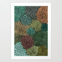 Ink  Pattern No.4 Art Print