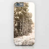 Winter Roadside iPhone 6 Slim Case