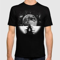Endless Journey Mens Fitted Tee Black SMALL