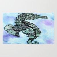 Tatoo Seahorse Rug