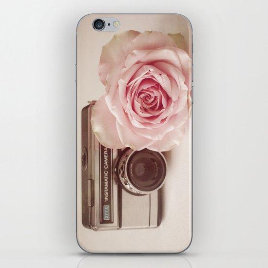 Rose & The Camera  iPhone & iPod Skin