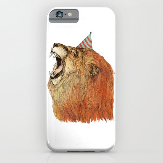 Birthday Lion iPhone & iPod Case