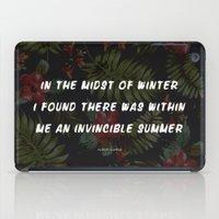 Invincible Summer iPad Case