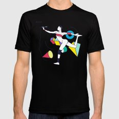 Grace Jones SMALL Mens Fitted Tee Black