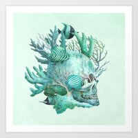 Full Fathom Five  Art Print