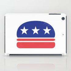 I Vote for Burger! iPad Case