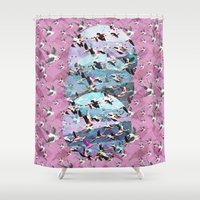 Lost Birds Shower Curtain