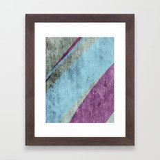 overlaps Framed Art Print