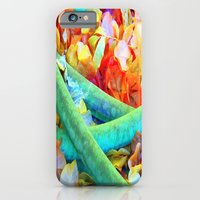iPhone & iPod Case featuring leaves by Lauren