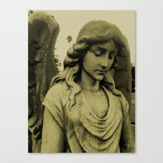 Sepia Angel Canvas Print