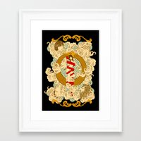 XXI The Universe Framed Art Print