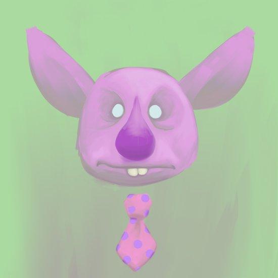 Oslow - Cutesy Creep #1 Art Print