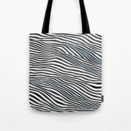 Ocean Of Lines Tote Bag