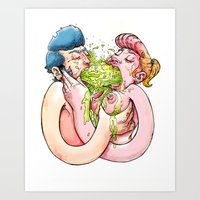 Chunky Love Art Print