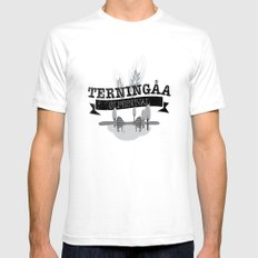 Terningåa Ølfestival Mens Fitted Tee White SMALL