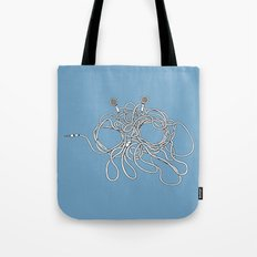 His Wiry Appendage Tote Bag