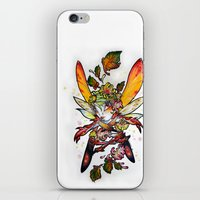 Chrysantheme Fairy iPhone & iPod Skin