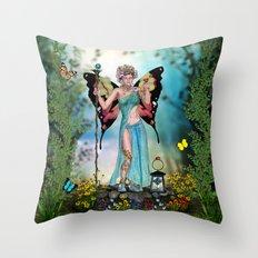 Awakening Summer Throw Pillow