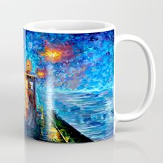 The 10th Doctor who Starry the night Art painting iPhone 4 4s 5 5c 6, pillow case, mugs and tshirt Mug