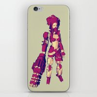 REBELLION iPhone & iPod Skin