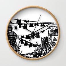 Home = Organised Chaos Wall Clock