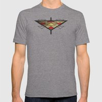 Navajo Arrows Mens Fitted Tee Tri-Grey SMALL