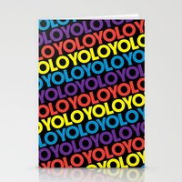YOLO Stationery Cards