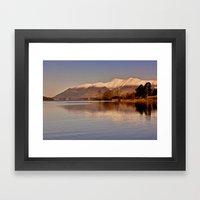 Derwentwater - Lake Dist… Framed Art Print