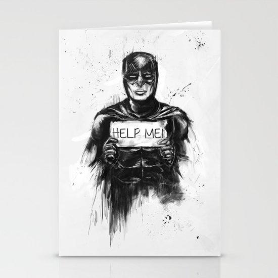 help me! Stationery Card