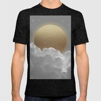 Nothing Gold Can Stay (Stay Gold) Mens Fitted Tee Tri-Black SMALL