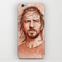 Eddie Vedder iPhone & iPod Skin