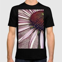 coneflower chic Mens Fitted Tee Black SMALL