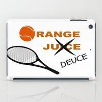 Orange Deuce iPad Case