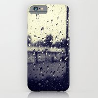 iPhone & iPod Case featuring Rainy Days by Sara Miller