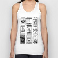 Chinese Teabox Collectio… Unisex Tank Top