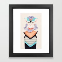 Hair Play 03 Framed Art Print