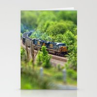 Rollin' Round the Bend Stationery Cards