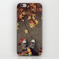 Fall iPhone & iPod Skin