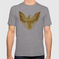 Phoenix Mens Fitted Tee Athletic Grey SMALL