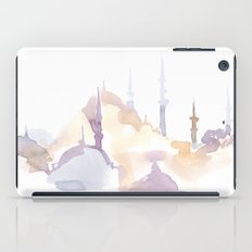 Watercolor landscape illustration_Istanbul - Saint Sophia iPad Case