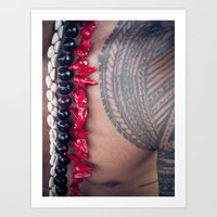 Samoan Tattoo Art Print