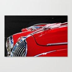 Classic Jaguar MIV car  Canvas Print