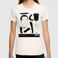 Decommissioned: Data Womens Fitted Tee Natural SMALL