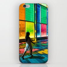 Stepping into a rainbow iPhone & iPod Skin