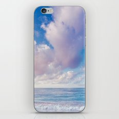 beach ver.pink iPhone & iPod Skin