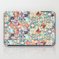 watercolour quilt iPad Case