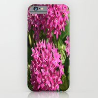 iPhone & iPod Case featuring pink stars by Jaclyn B Photography