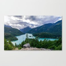 Crushing clouds Canvas Print