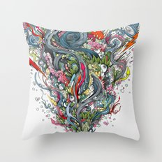 grigri Throw Pillow